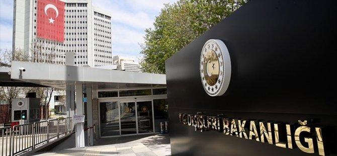 Türkiye'den AP Genel Kurulu'nda Alınan Tavsiye Kararlarına Tepki
