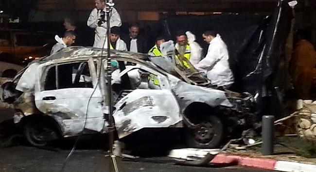 Bu kez bomba yüklü araç patlatıldı