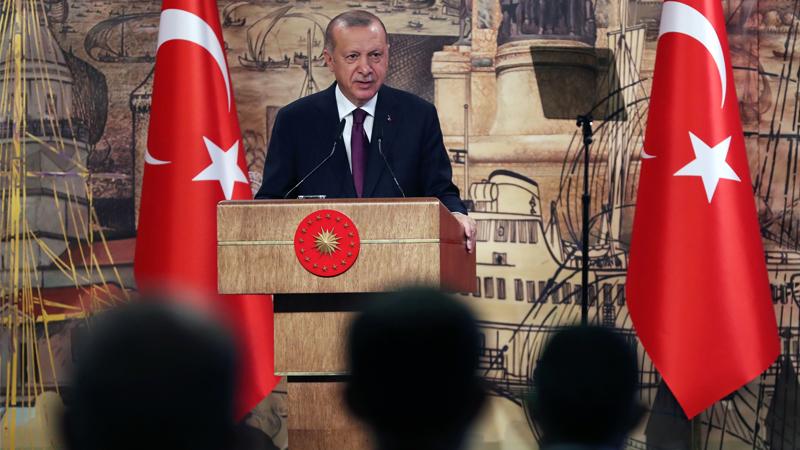 Erdoğan: Sorunları, diyalog yoluyla herkesin kazanabileceği bir çözüme kavuşturmak niyetindeyiz