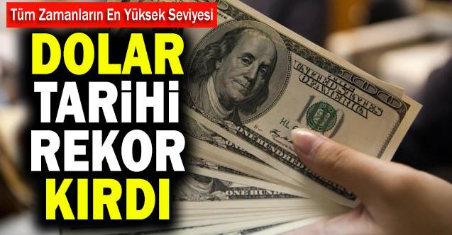 Dolar/TL 7,72'ye yaklaşarak rekor kırdı, Merkez Bankası faiz kararı bekleniyor