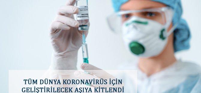 Tüm Dünya Koronavirüs İçin Geliştirilecek Aşıya Kitlendi