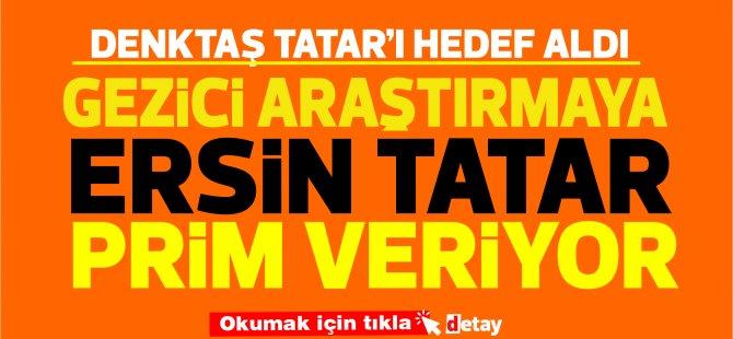 Serdar Denktaş: Tatar bu manipülatöre prim veriyor