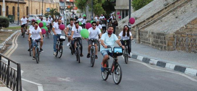 Bisikletler ileriye sürüldü!