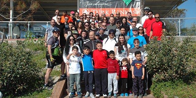 Türk Bankası ailesi bisiklet turunda buluştu...