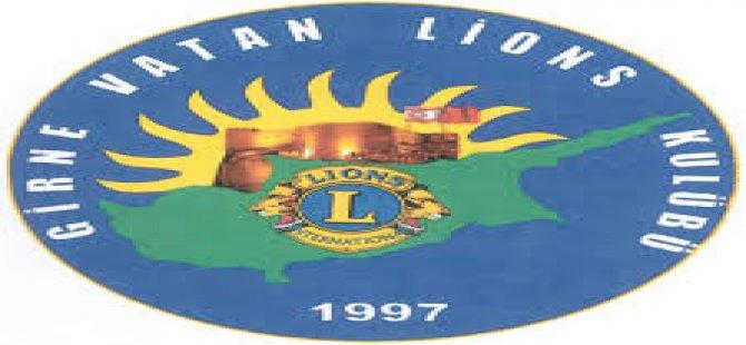 Girne Vatan Lions Kulübü'nden anlamlı etkinlik