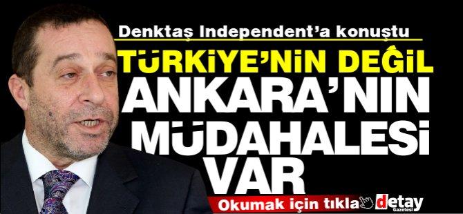 """Serdar Denktaş: """"Ankara'nın seçimlere müdahalesi Var"""""""