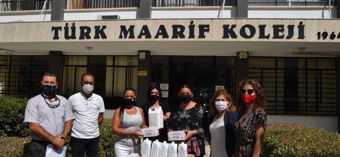 LTB'den maske ve dezenfektan katkısı
