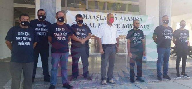 Mağusa Türk Genel İş Sendikası belediye hakkında açıklama yaptı