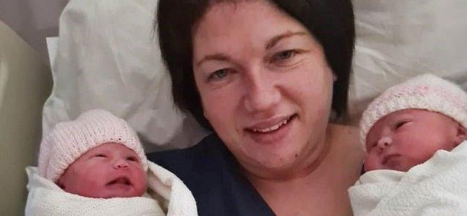 İngiltere'de 9 haftalık hamileyken koronavirüse yakalanan anne komada ikiz doğurdu