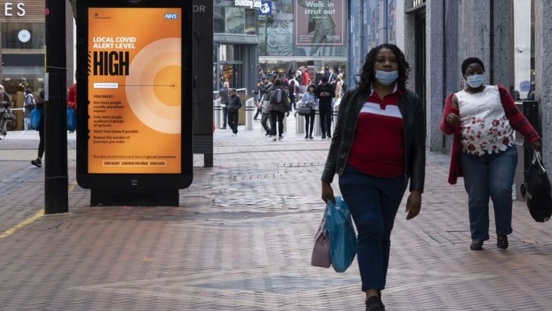 Koronavirüs: Londra ve Essex'te önlemler 'yüksek tehdit' seviyesine çıkarılıyor