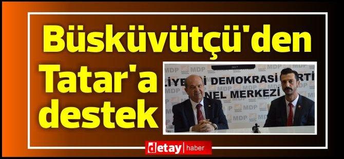Büsküvütçü'den Tatar'a destek