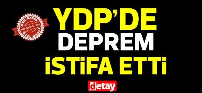YDP Gazimağusa Gençlik Kolları Başkanı istifa etti!