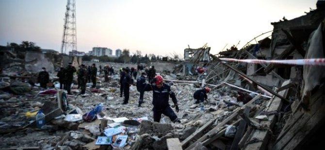 Ermenistan'ın Gence'ye Saldırısında 13 Sivil Ödlü