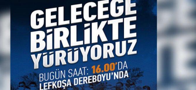 Ersin Tatar, taraftarlarını bugün saat 16.00'da Dereboyu'na davet etti