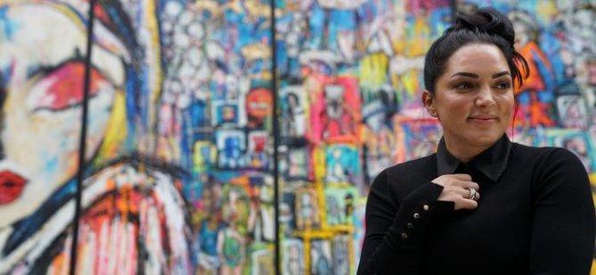 Türk ressam Almanya'nın en büyük tablosunu yaptı