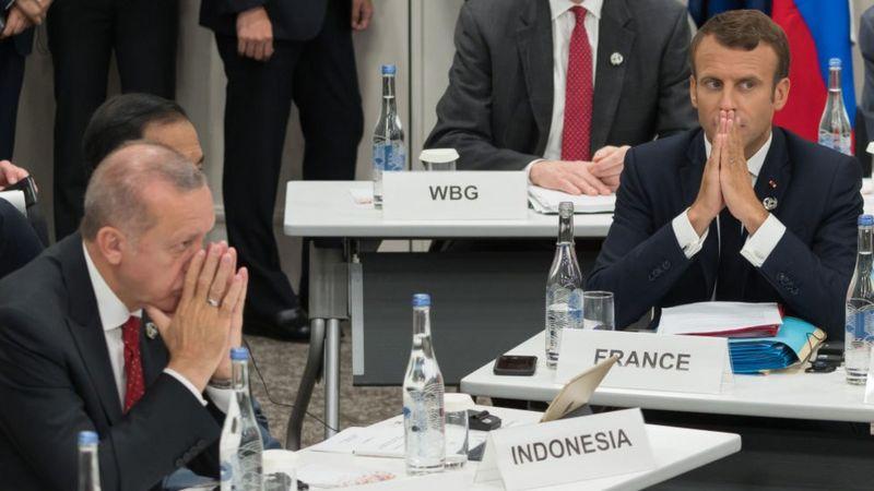 Fransa, Erdoğan'ın Macron hakkındaki sözleri üzerine büyükelçisini Paris'e çağırdı