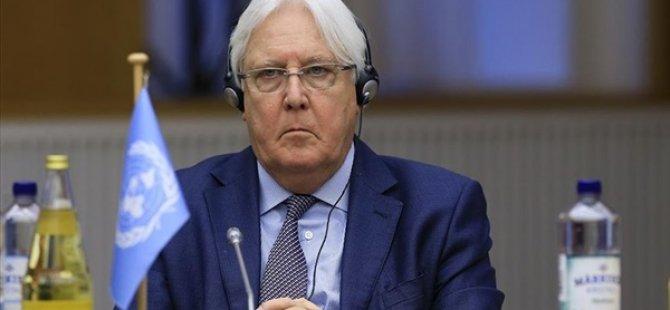 """BM Yemen Özel Temsilcisi Griffiths'den Yemenli Taraflara """"Ortak Bildiri"""" Üzerinde Anlaşma Çağrısı"""