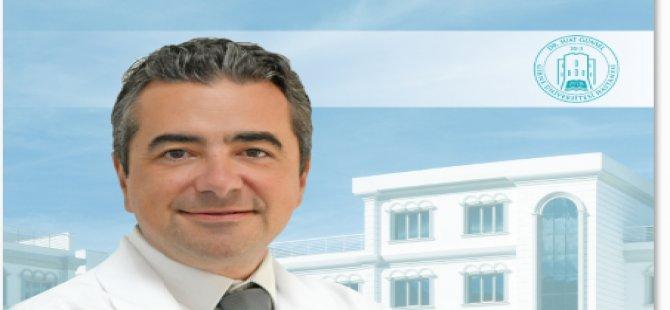"""Girne Üniversitesi Hastanesi Üroloji Anabilim Dalı Uzmanı Doç. Dr.Çetin Volkan Öztekin: """"İdrarda Görülen Kanama Mesane Kanserinin Habercisi Olabilir"""