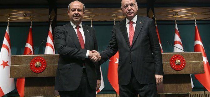 Tatar, TC Cumhurbaşkanı Erdoğan ile görüşüyor