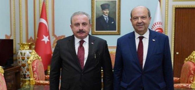 Tatar, TBMM Başkanı Şentop İle Görüştü