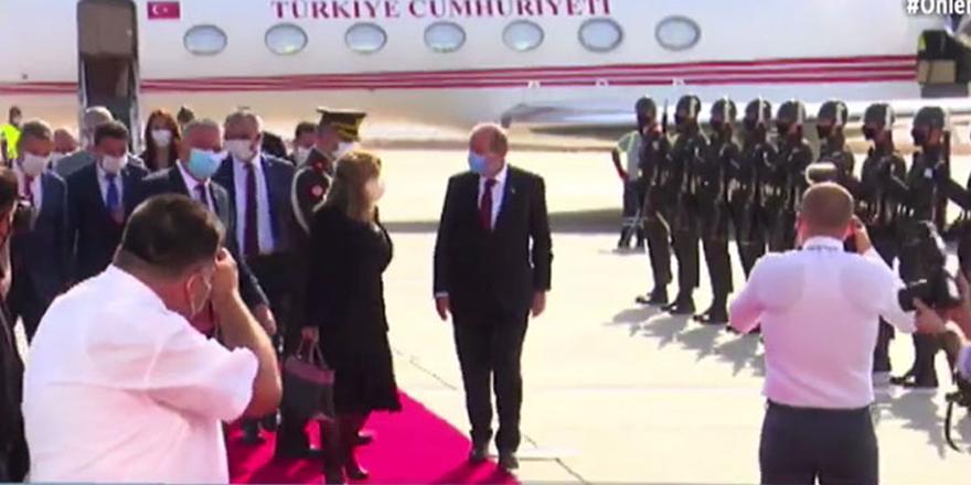 Cumhurbaşkanı Tatar adaya döndü!