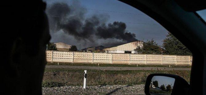 Ermenistan Berde Şehir Merkezini Vurdu
