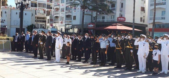 Türkiye Cumhuriyeti'nin , Kuruluşunun 97'nci Yıldönümü Girne'de  Kutlanıyor