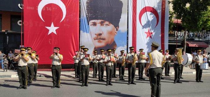 29 Ekim Cumhuriyet Bayramı Mağusa'da da kutlandı