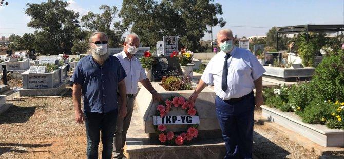 TKP-YG merhum Genel Sekreteri Sonay Adem'i 2. ölüm yıldönümünde andı