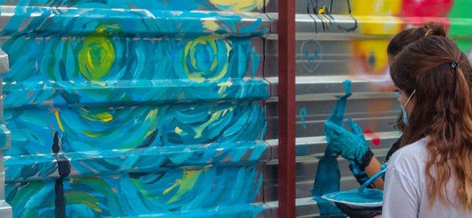 ARUCAD'da Graffiti Etkinliği