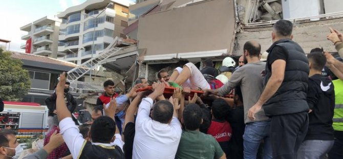 İzmir'de 12, Sisam adasında 2 can kaybı