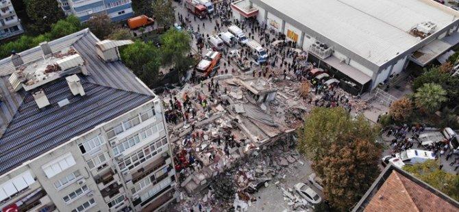 Depremin Merkez Üssü Seferihisar Havadan Görüntülendi