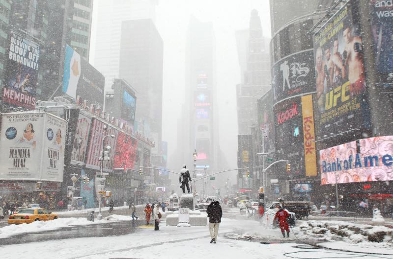 ABD'de 'yıkıcı' buz fırtınası ilerliyor