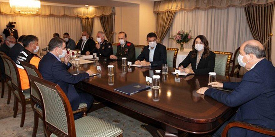 Cumhurbaşkanlığı'nda acil durum toplantısı
