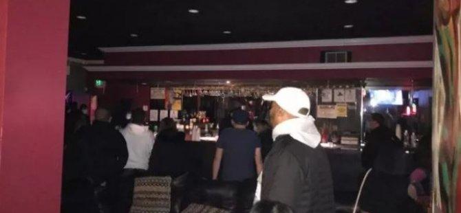 Swinger kulübüne yapılan baskında Koronavirüs cezası...80 kişi yakalandı