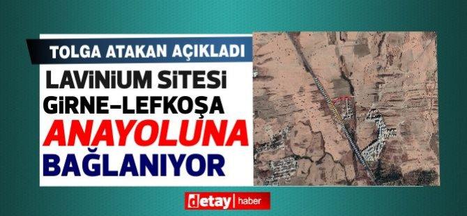 Lavinium Sitesi'nden Girne-Lefkoşa Anayoluna giriş çıkış yapılması için hazırlanan proje hayata geçiriliyor