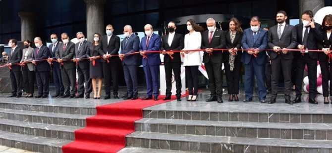Yakın Doğu Bank Yeni Genel Müdürlük Binası açıldı