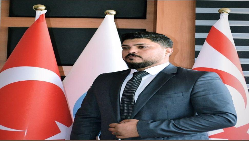 YDP'de işler yine karıştı! YDP Gençlik Kolları Başkanı Ali Ömer Yayla istifa etti!