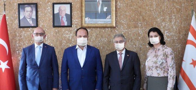 Limasol Bankası'ndan Başkan Sadıkoğlu'na Ziyaret
