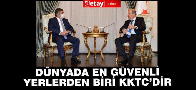 Cumhurbaşkanı Tatar, LAÜ Mütevelli Heyetini kabul etti