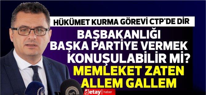 """Erhürman Tatar'ın Özersay'a mesajını eleştirdi:""""Herkes ağzından çıkanı tartarak söylesin"""""""