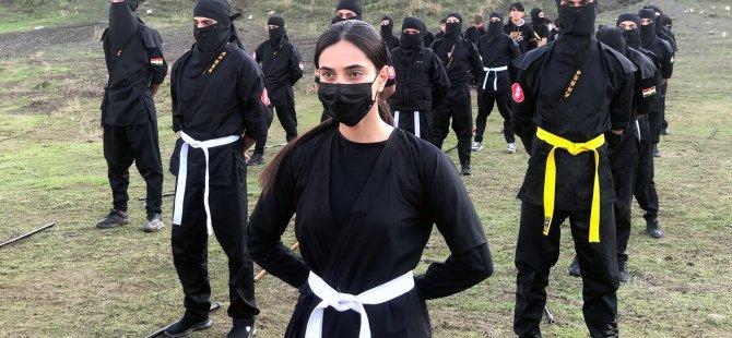 Kürt ninjalar tanınmak istiyor