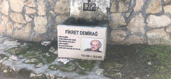 Şair Fikret Demirağ, 10'uncu ölüm yıl dönümünde Lefke'de anıldı
