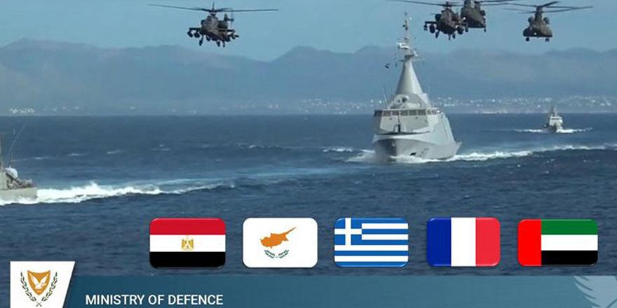 5 ülkenin Akdeniz'de başlattığı ortak tatbikata Türkiye'den tepki geldi