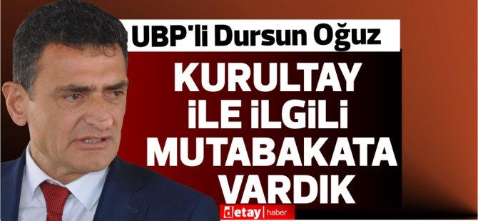 UBP'li Oğuz:Faiz Bey partinin önünde engel olarak görülmek istemediği için onay verdi