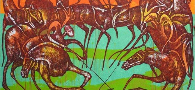 Kazakistanlı Sanatçı Yesenbayev'in Sergisi Perşembe Günü Girne Üniversitesi'nde Açılacak