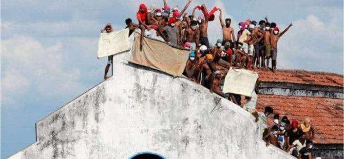 Cezaevinde 'corona' isyanı: Sekiz mahkum öldü, 52'si yaralandı