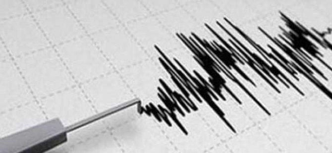 Kıbrıs'ta deprem meydana geldi