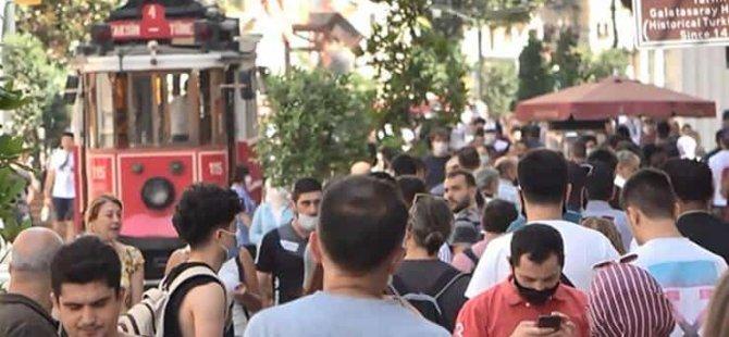 İstiklal Caddesi'nde yeni tedbir: En fazla 7 bin kişi; tek yönde yürünebilecek