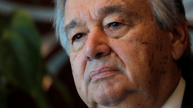 BM Genel Sekreteri Guterres: İnsanlık doğa ile savaşa girişerek kendi sonunu hazırlıyor